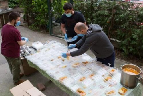 Solidarna kuhinja, Blic